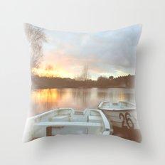 Water colour  Throw Pillow