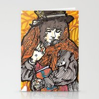 wasted rita Stationery Cards featuring Rita by Freja Friborg