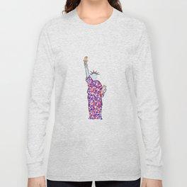 Lady Liberty II Long Sleeve T-shirt