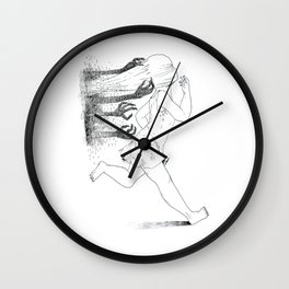Nightmare chased Wall Clock
