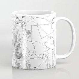 Picasso Line Art - Guernica Coffee Mug