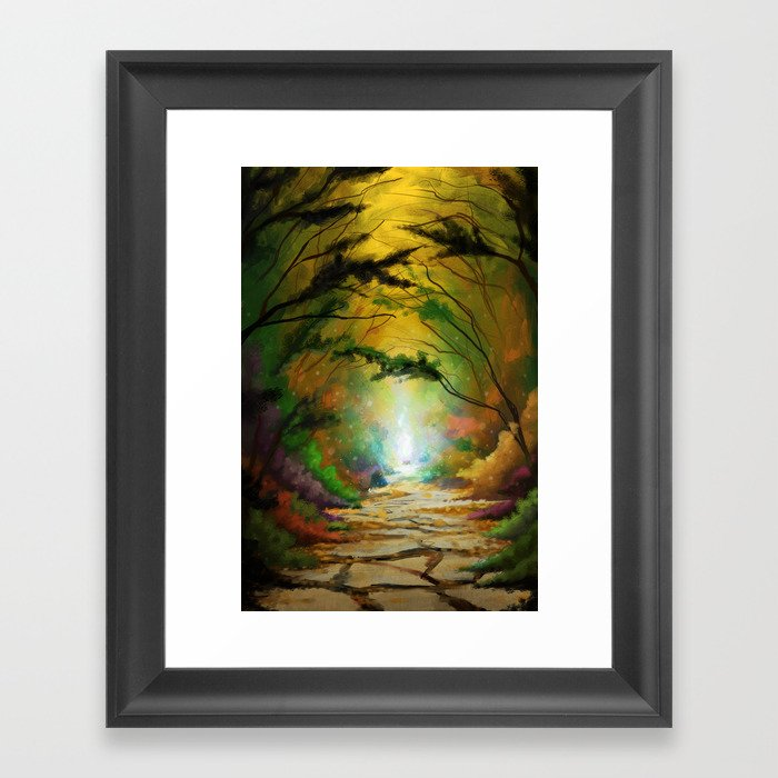Pathway to Destiny Framed Art Print
