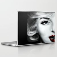marilyn Laptop & iPad Skins featuring Marilyn  by Lily Fitch