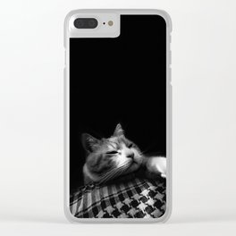 Thats My Cat 04 !! Just Bored Clear iPhone Case