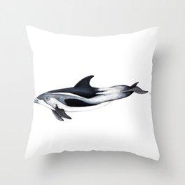 White-beaked Dolphin Throw Pillow