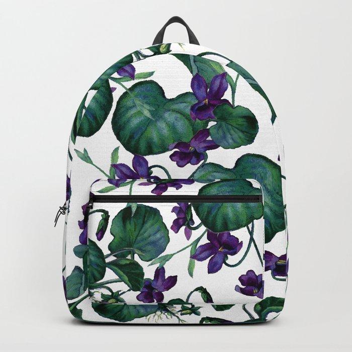 Violets #society6 #decor #buyart Backpack