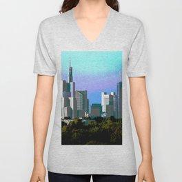 Skyline Unisex V-Neck