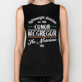 Conor McGregor Division by TMS Biker Tank