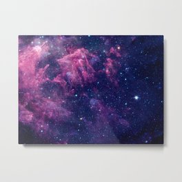 Space nebula Metal Print