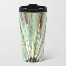 Wheat Sunburst Teal Travel Mug
