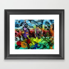 Special places oft exist where hearts desire most persists Framed Art Print