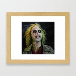 You like it? Framed Art Print