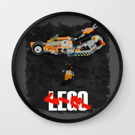 Everything is Awesome in Neo Tokyo Wall Clock