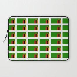 Flag of Zambia -Zambian,Rhodesia,Lusaka,Kitwe,Chipata Laptop Sleeve
