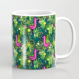 Flamingo and the Tropics Coffee Mug