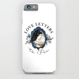 Love Letters to Poe iPhone Case