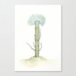Blue Flower, 2018 Canvas Print