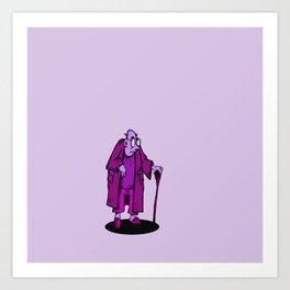 Granddaddy Purple Art Print