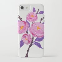 study iPhone & iPod Cases featuring Flower study by Bexelbee
