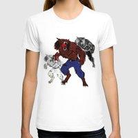 werewolf T-shirts featuring werewolf by American Artist