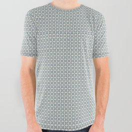 Basket Weave BG mini All Over Graphic Tee