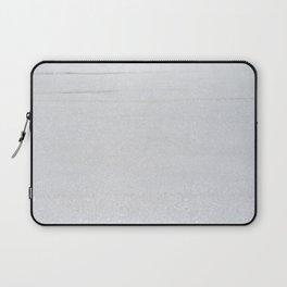 Snow Glitter Laptop Sleeve