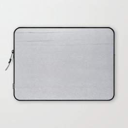 Snow Glitter Laptop Sleeve