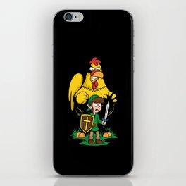 The Legend of Ernie (dark background) iPhone Skin