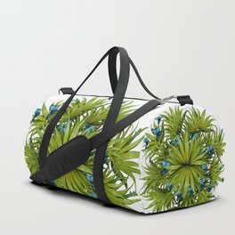 """El Bosco fantasy, tropical island blue butterflies 02"" Duffle Bag"