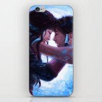 korrasami iPhone & iPod Skins featuring Korrasami by Sabuchan