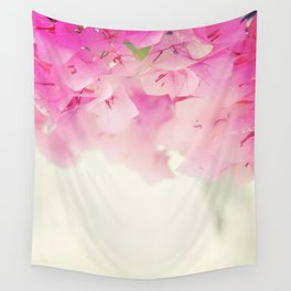 PINK BOUGAINVILLAEAS Wall Tapestry