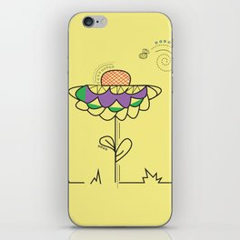 A summer's day iPhone Skin
