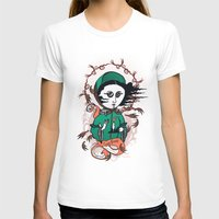 writer T-shirts featuring Emily Brontë Holy Writer by roberto lanznaster
