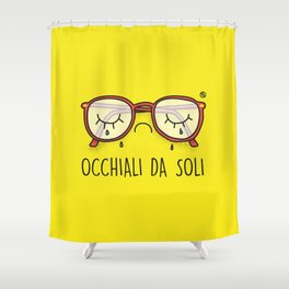 Occhiali da Soli Shower Curtain