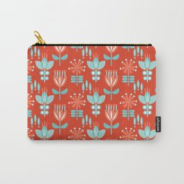 Whirlygig Floral Carry-All Pouch