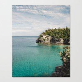 Bruce Peninsula in October Canvas Print