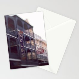 Morning Light in the French Quarter Stationery Cards