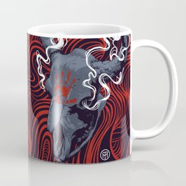 QOTSA Buffalo Skull Coffee Mug