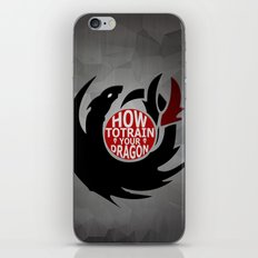 How To Train Your Dragon (Hiccup's Shield) iPhone & iPod Skin