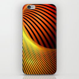 Fiery Motion and Elegance iPhone Skin