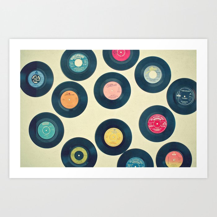 All of Our Yesterdays Art Print