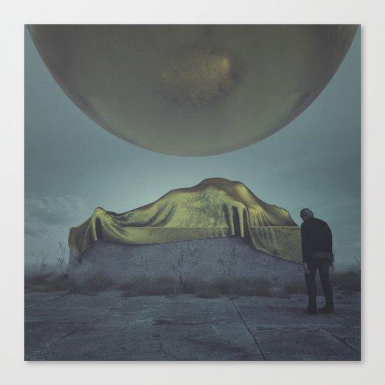 DEPELETED (everyday 01.18.17) Canvas Print