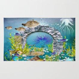 Unterwasserlandschaft Rug