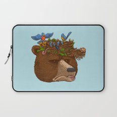 Mr Bear's Nature Hat 2017 Laptop Sleeve