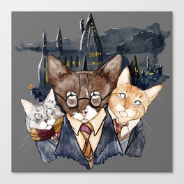 Winky Potter and Friends Canvas Print