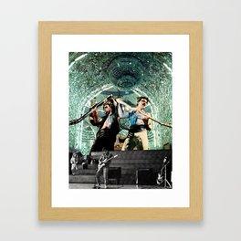Rock n Roll Psychic Hegemony Framed Art Print