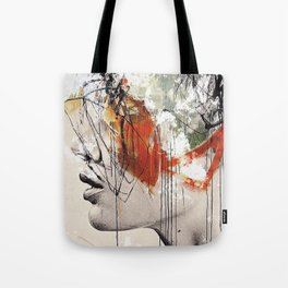 Abstract deconstruction ... Tote Bag