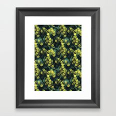 just some bacteria ( can't be touched!) Framed Art Print
