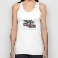 drunk Tank Tops featuring drunk by Mariana Beldi