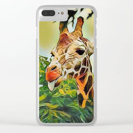 A Bit of Attitude Clear iPhone Case